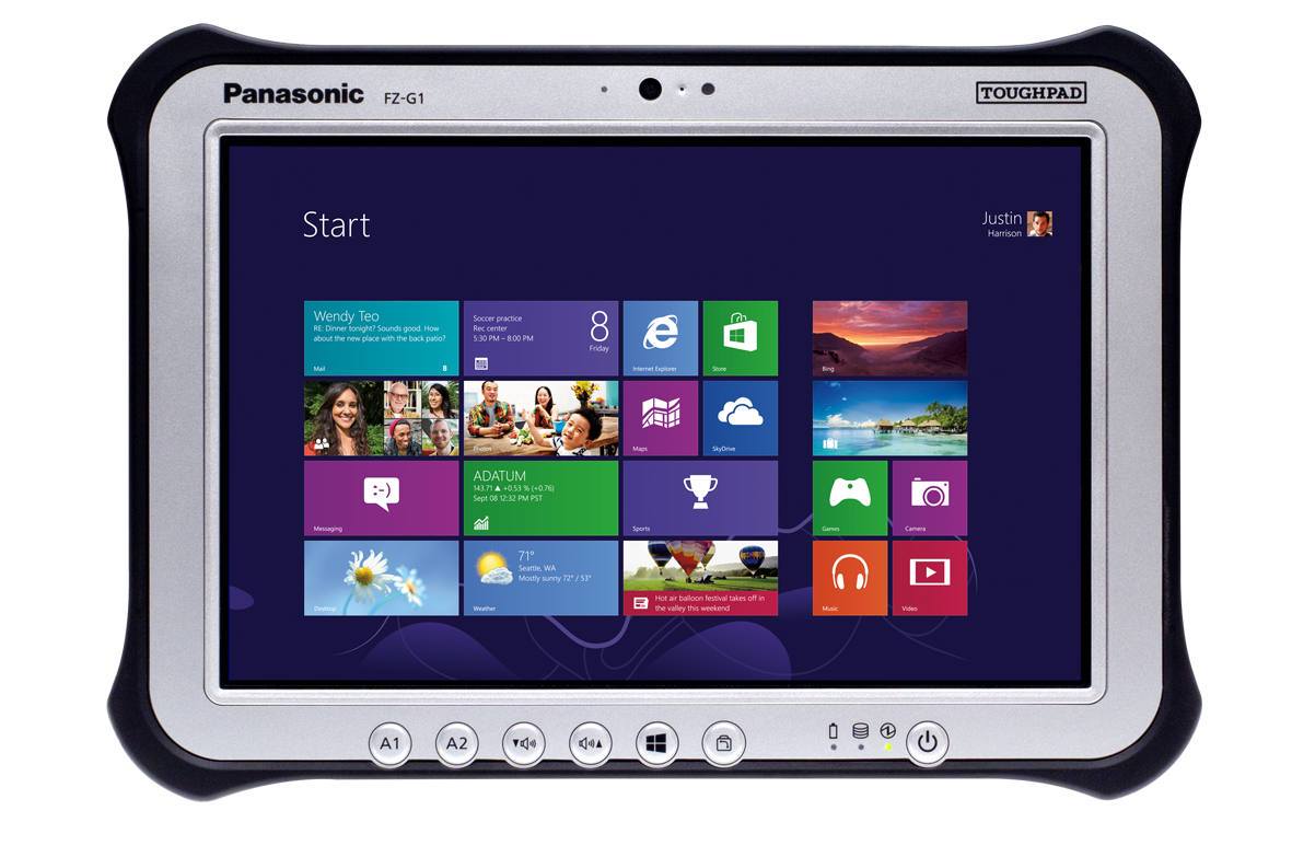 Tablette Panasonic tactile